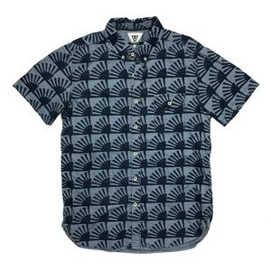 VISSLA Pattern Button-Up Shirt